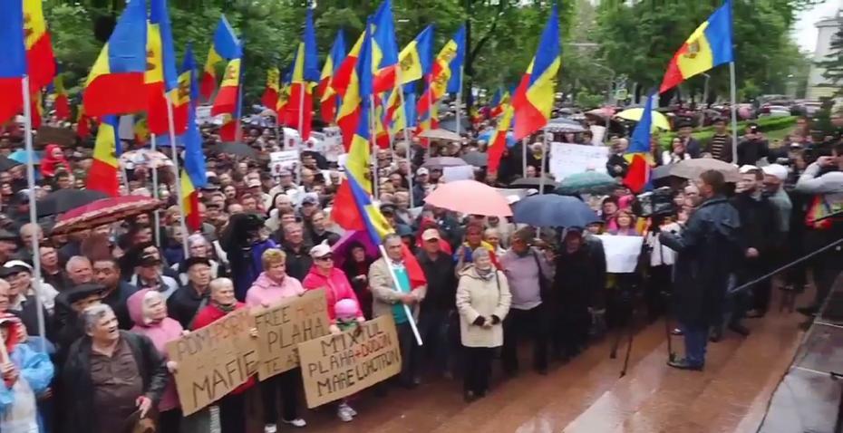 (live video) Cum se desfășoară protestul împotriva modificării sistemului electoral