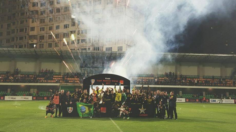 FC Sheriff Tiraspol pentru a noua oară în istorie câștigă Cupa Moldovei