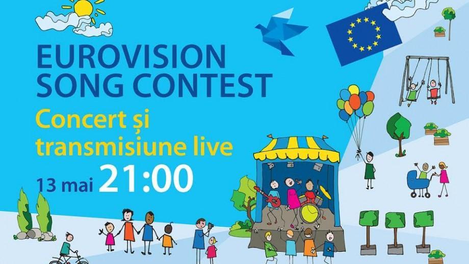 Finala Eurovision 2017 va fi transmisă LIVE în Grădina publică Ștefan cel Mare