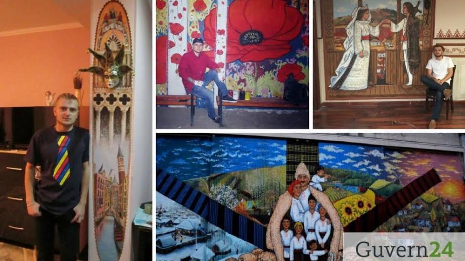 După stațiile de autobuz, un tânăr vrea să picteze liceul și biblioteca din satul Costești. Iată cum îl poți ajuta