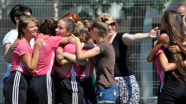 "(foto) Echipa din Criuleni a luat cupa turneului republican de mini-fotbal între fete ""Speranța"""
