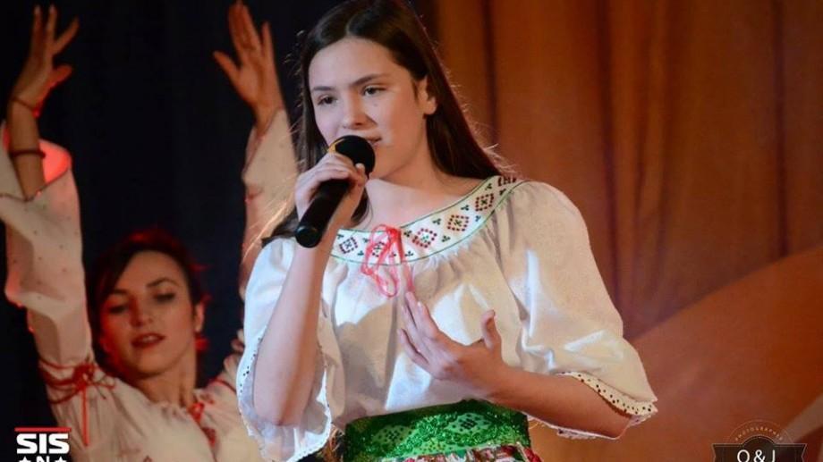 (foto, video) O tânără de 14 ani din Bălți a câștigat trofeul festivalului Hermannstadtfest din Sibiu