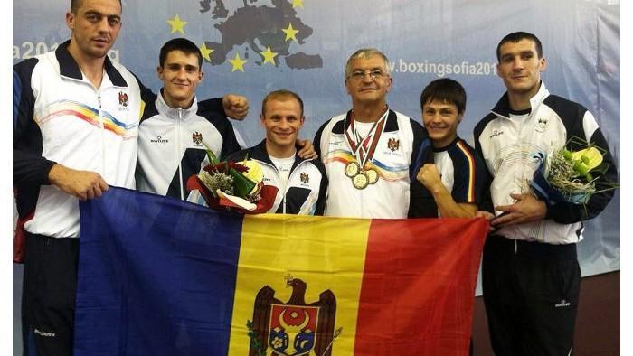 Boxerul moldovean Vasile Belous a cucerit medalia de bronz la Campionatul European