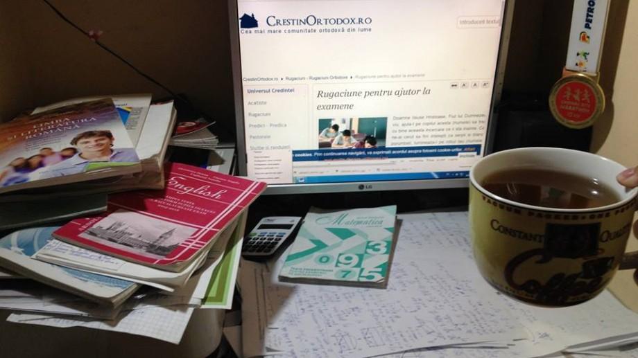 (foto, video) Un weekend până la BAC! Cum se pregătesc de examene mai mulți elevi din Chișinău