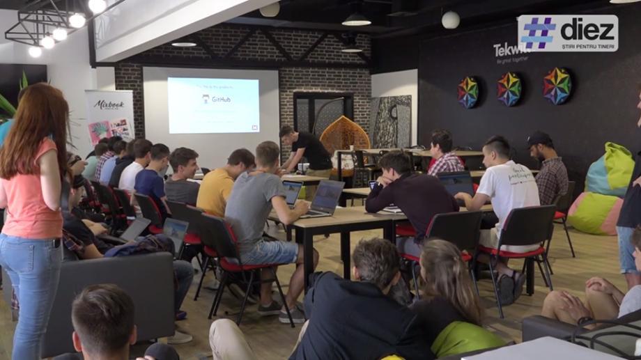 (video) Sarcini de coding, hackaton pentru reforma justiției și afaceri eco. Cum se desfășoară weekend-urile la Tekwill