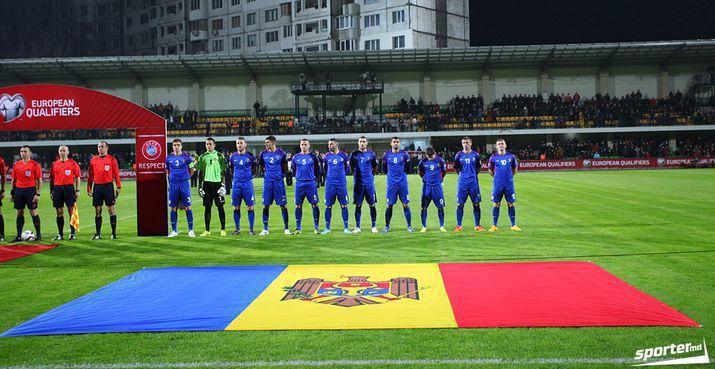 Naționala Moldovei de fotbal ratează victoria, după ce a condus Georgia cu 2-0 în prima repriză