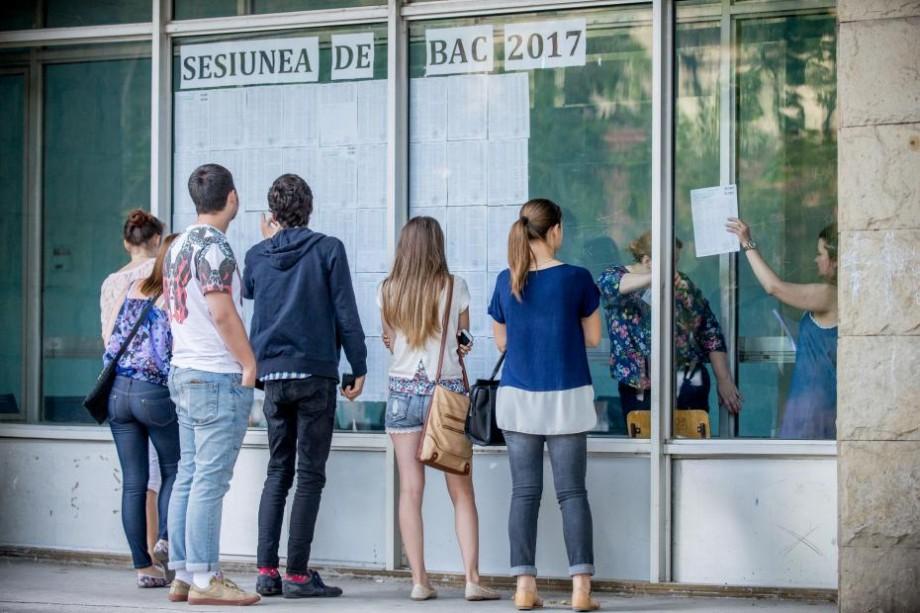 (video) Doar 13 candidați au fost eliminați la sesiunea de BAC 2017, iar rata promovării este de 91,58%. Ministerul Educației prezintă bilanțul
