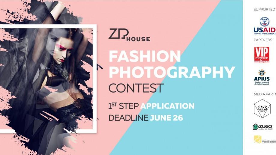 """Ai o pasiune pentru fotografia de modă? ZIPhouse te invită să aplici la prima competiție """"Fashion Photography Contest 2017"""""""