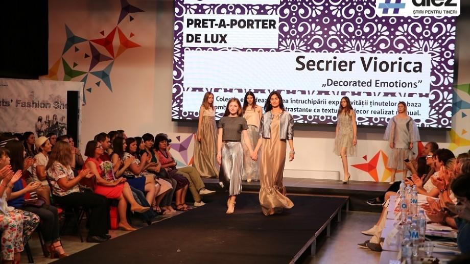 (foto, video) Nume noi în industria modei. Licențiatele de la Design Vestimentar, UTM, și-au prezentat primele colecții la Tekwill
