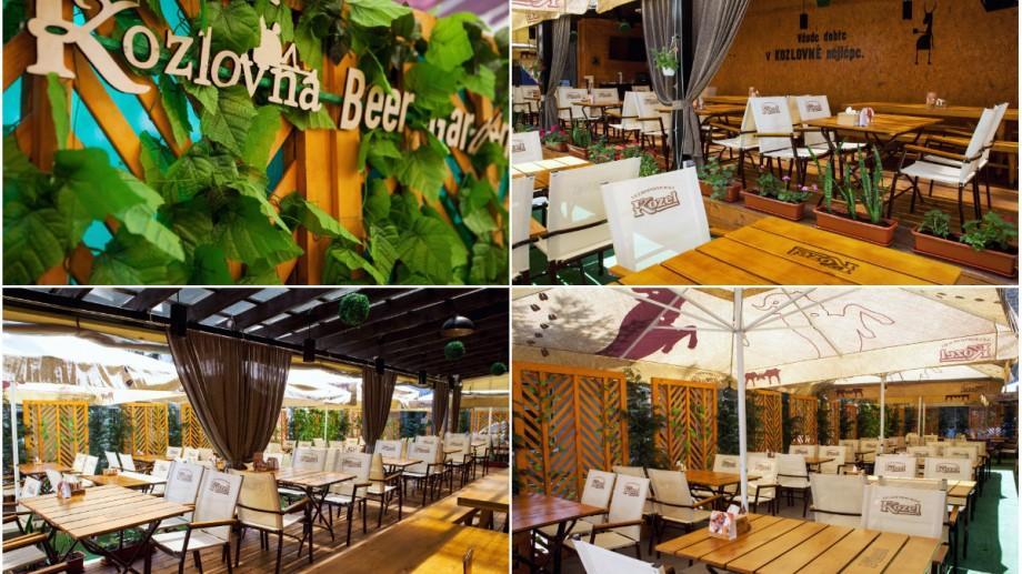 (foto) Rece, blondă, brună, spumoasă… Terrasa Kozlovna Beer Garden te așteaptă să te răcorești toată vara!