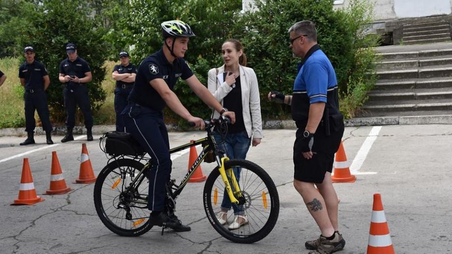 (video) O noua modalitate de patrulare. Poliția din Chișinău va circula cu bicicleta