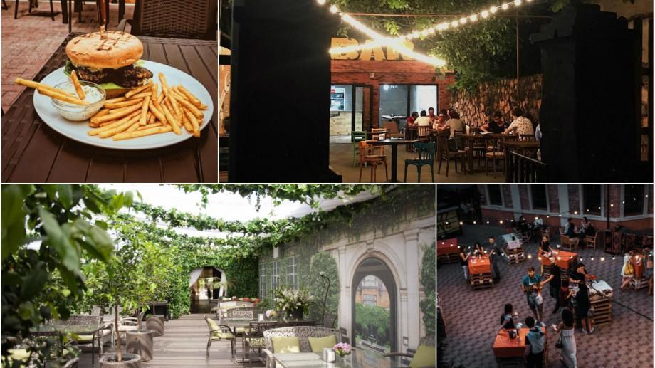 (foto) O nouă tendință printre localurile din Chișinău. Cafenelele și restaurantele care au curți interioare