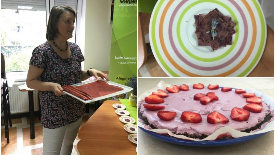 """(foto) """"Sănătate'n verde viu"""" sau cum ne sfătuiește Lucia Gavriliță să facem loc naturii în alimentația noastră"""