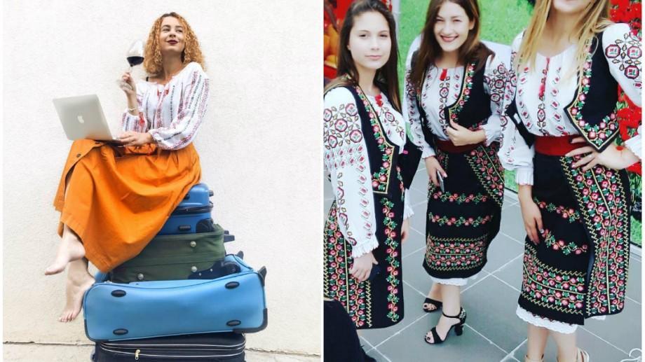(foto) Mândria portului național: Cum își etalează tinerii din Moldova iile pe rețelele de socializare
