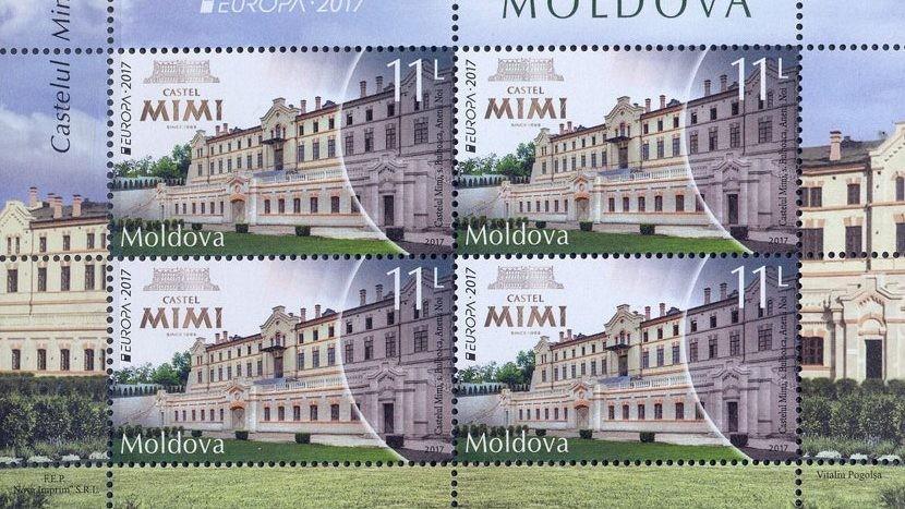 (foto) Se alege cel mai frumos timbru cu castele din Europa. Cum puteți ajuta Moldova să câștige premiul