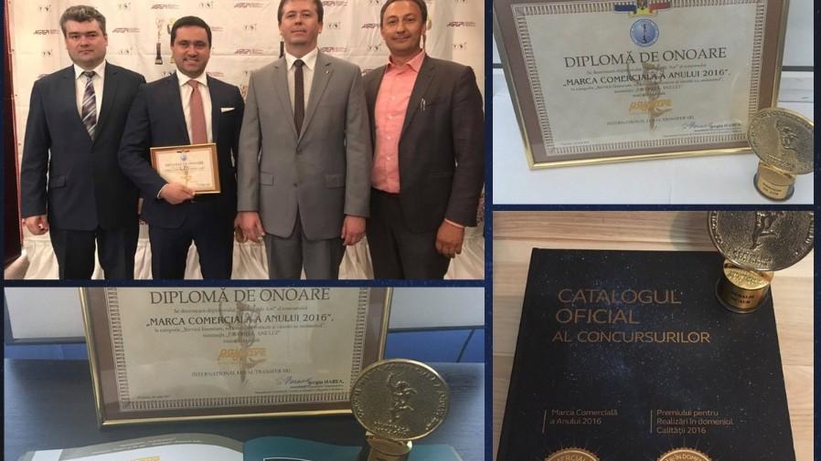 """Gala Businessului Moldovenesc: Marca comerciala """"Pay&Save"""" laureată medalia de aur"""