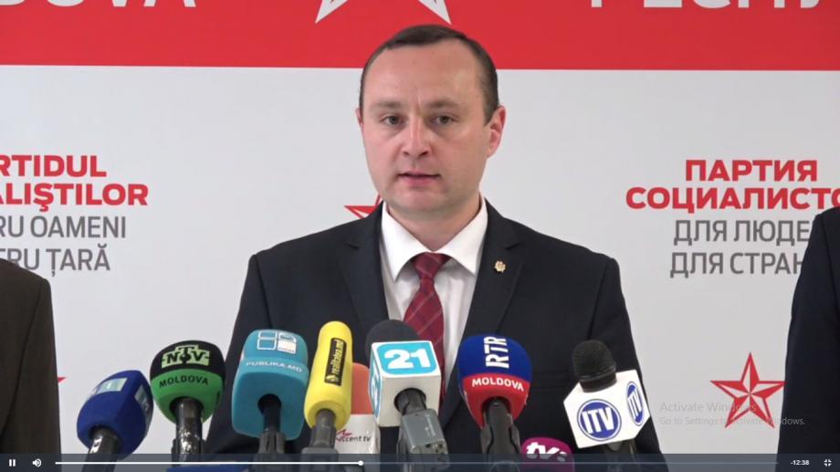 """(video) PSRM a înaintat o moțiune de cenzură împotriva Guvernului. """"Acest Guvern este anti-democratic, corupt, iresponsabil, mincinos"""""""