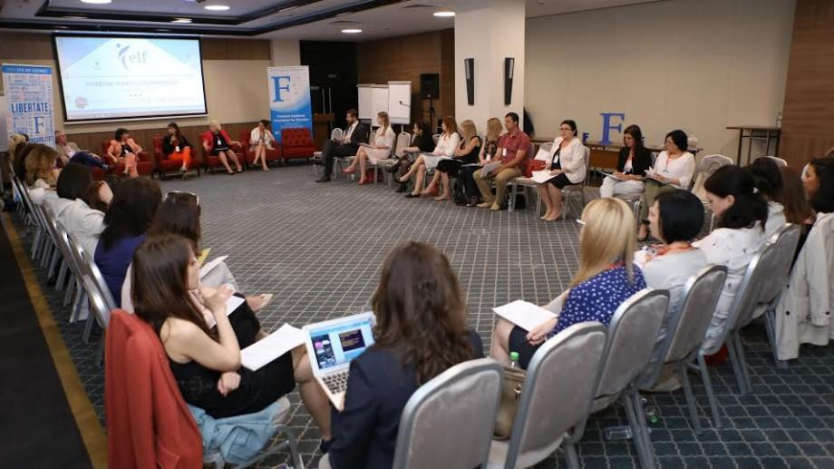 (foto) Zeci de antreprenoare din Europa de Est participă la o conferință de promovare a antreprenoriatului feminin la Chișinău