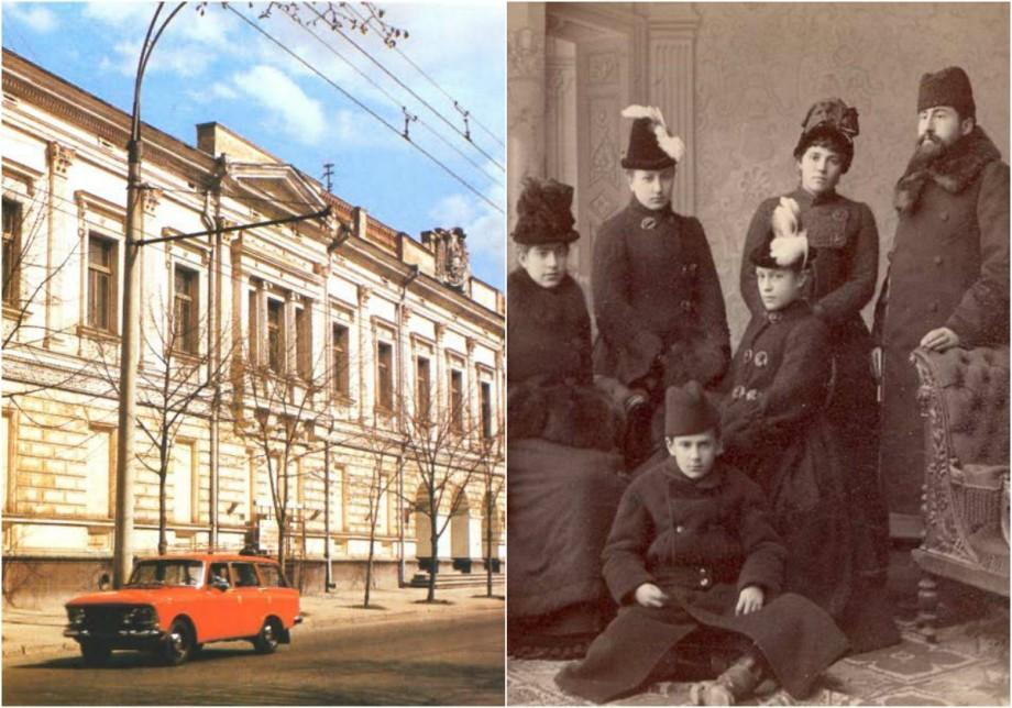 (foto) Descoperiri urbane: Vila orășenească Rîşcanu-Derojinschi – locul care păstrează amintirea cele mai vechi familii de boieri din Moldova