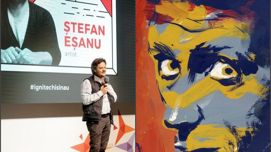 (foto) După ce ne-a arătat cât înseamnă un miliard, Ștefan Eșanu ne invită la o nouă expoziție – Work in Progress