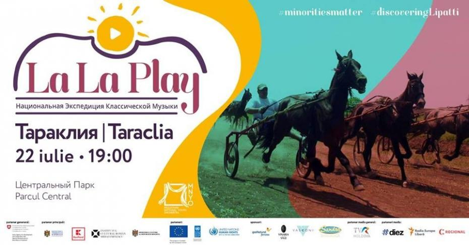 La La Play Taraclia – ascultă muzică clasică și promovează diversitatea etnică