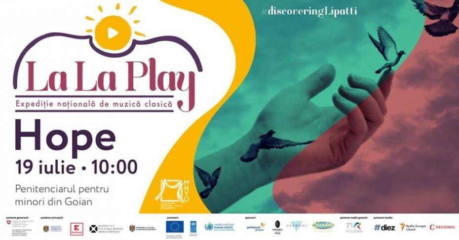 La La Play Hope – arta este liberă pentru toți!