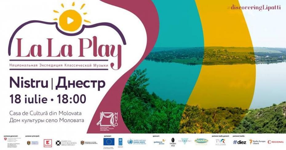 La La Play Nistru – delectează-te cu muzică clasică și promovează arta încrederii și înțelegerii reciproce