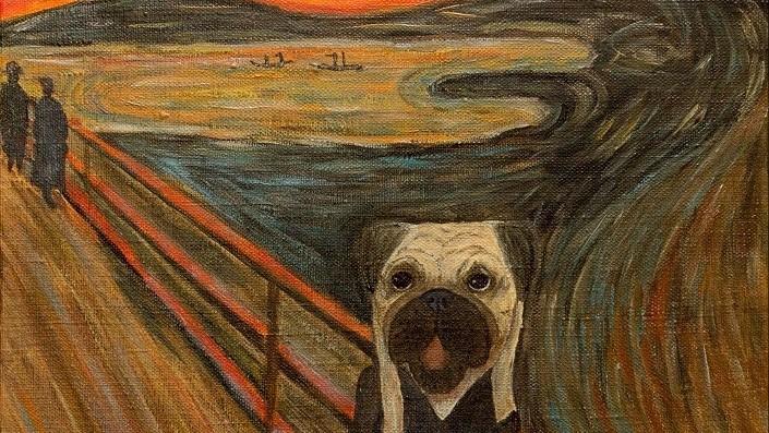 """Creează o versiune interpretată a tabloului """"Scream"""" de Edvard Munch și poți câștiga un premiu de 6 000 de euro"""