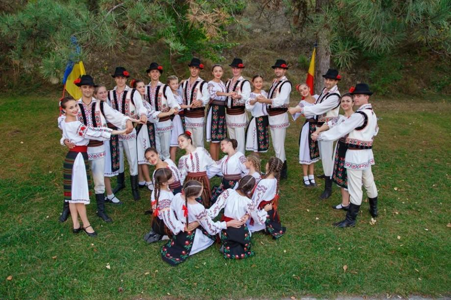 (foto, video) O echipă de tineri din Moldova a luat locul II la Concursul internațional de dansuri folk
