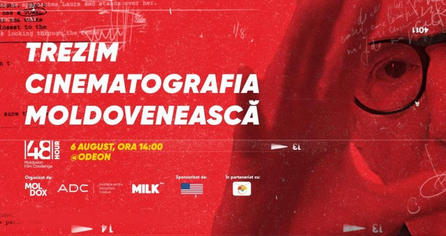 48h Moldovan Film Challenge – evenimentul la care vor apărea mai multe filme create în Moldova în mai puțin de 48 ore
