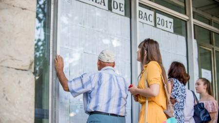 BAC 2017: Încă 1.585 de candidați au promovat examenele în urma sesiunii suplimentare