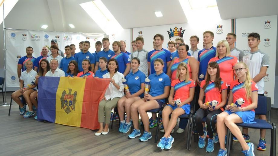 Lotul Moldovei la FOTE din Gyor a fost prezentat. Vezi cine sunt sportivii care vor participa