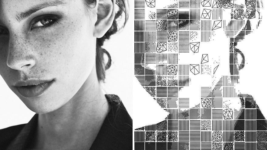 (foto) Un tânăr pasionat de artă și matematică a elaborat un algoritm care transformă fotografiile în mozaic