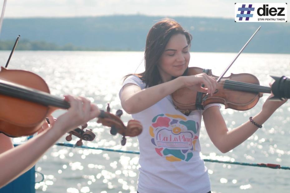 (galerie foto) Muzica clasică a răsunat pe Nistru pentru cele două maluri. La La Play a ajuns la Molovata