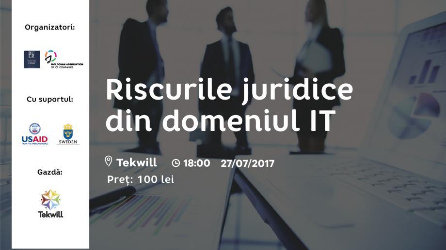 Ești profesionist în domeniul IT? Învață la un eveniment cum să faci față riscurilor juridice