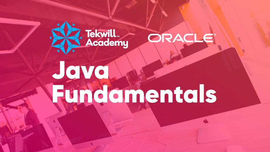 Îți place sfera IT și ai vrea să înveți să programezi? Tekwill Academy lansează cursul de instruire Java Fundamentals