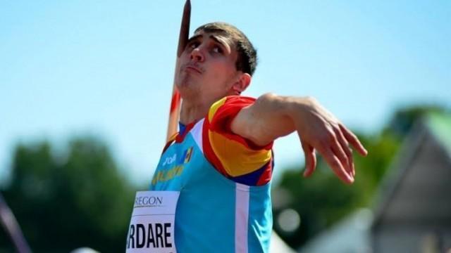 Atletul Andrian Mardare țintește o nouă medalie în cariera sa. Tânărul s-a calificat în finala Campionatului European Under 23