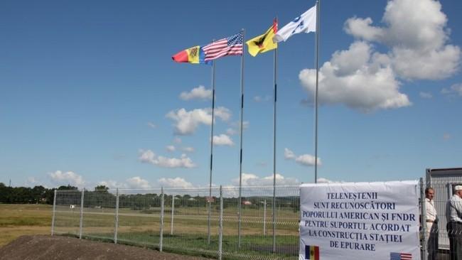 La Telenești a fost inaugurată stația de epurare a apelor uzate. Proiectul a costat 1,5 mln dolari