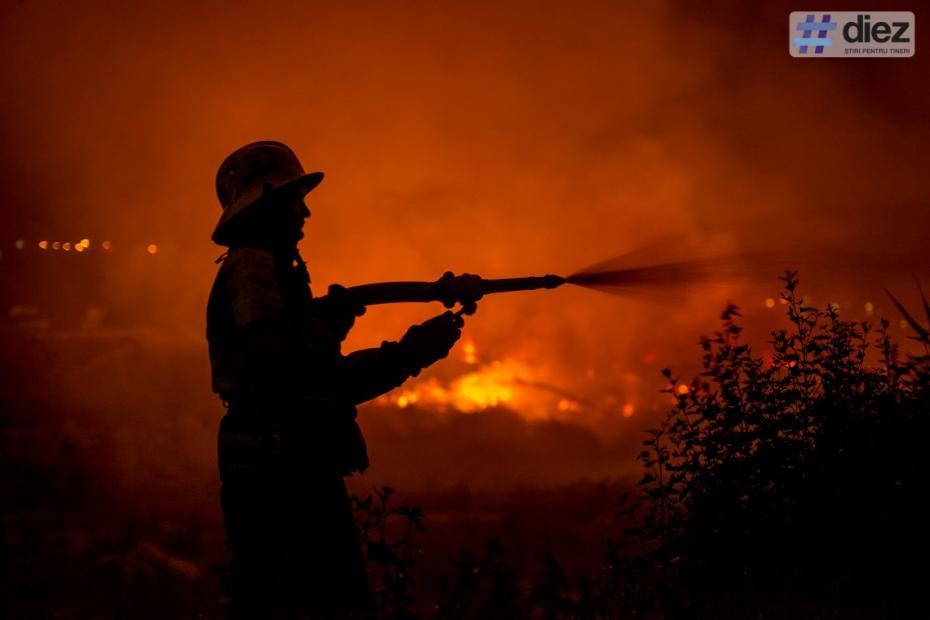 După ce crengile depozitate la o gunoiște au luat foc, Serviciului Protecției Civile și Situațiilor Excepționale vine cu soluții de prevenire