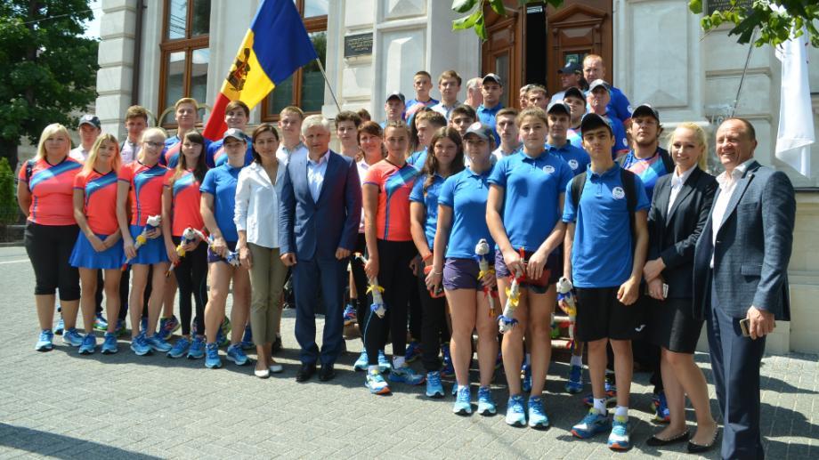 (foto) Cine sunt sportivii care fac parte din lotul Moldovei Festivalului Olimpic al Tineretului European