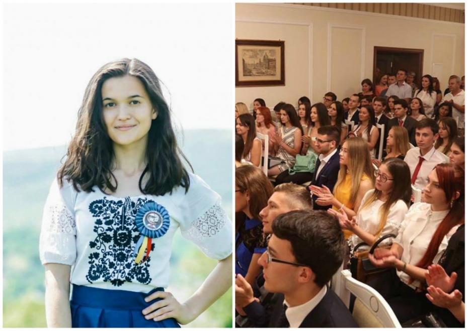 """""""Am fost invitată, dar am refuzat."""" O elevă din Sîngerei a respins premiul oferit de Igor Dodon"""