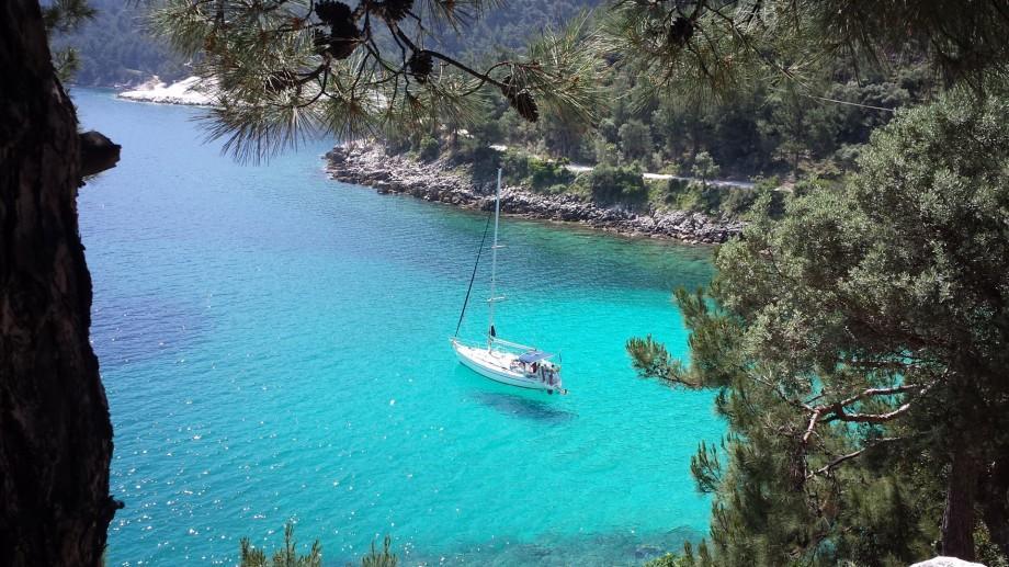 (foto) Ce alte locuri poți vedea pe insula Thassos în afară de litoralul Mării Egee
