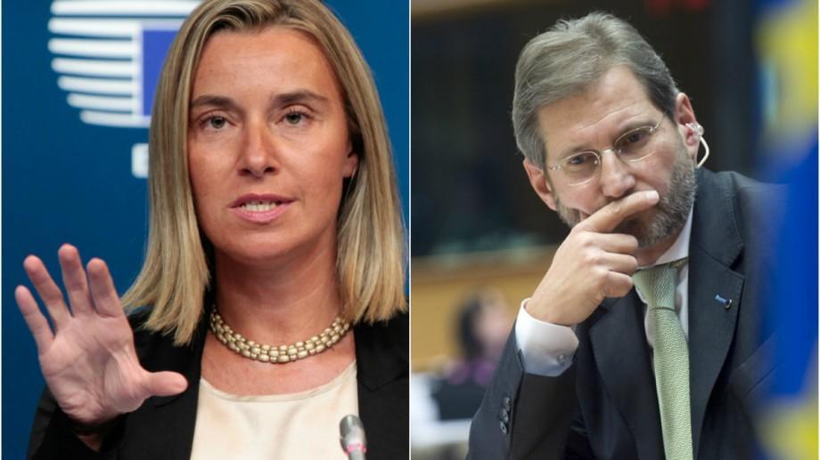 Moldova nu a respectat recomandările Comisiei de la Veneția. Reacțiile Federicăi Mogherini și a lui Johannes Hahn