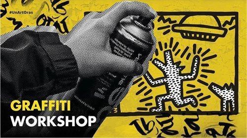 Ai între 7 și 17 ani? Vino la un workshop de graffiti și află cum poți să transformi un perete gol într-o lume colorată