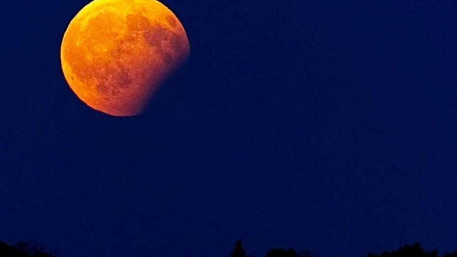 (foto) Cum s-a văzut eclipsa parțială de lună pe cerul din Chișinău și nu numai