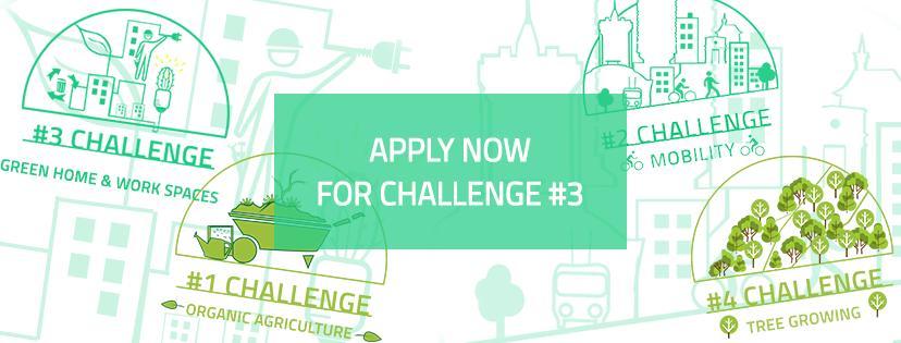 """Acceptă provocarea EcoVisio și crează-ți acasă sau la birou un spațiu ecologic. Află care sunt cele mai bune tehnici """"verzi"""" și eco-friendly"""
