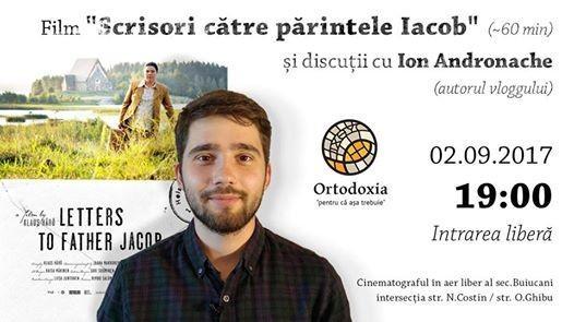 """Vino la un offline cu autorul """"Ortodoxia – pentru că așa trebuie"""" și sărbătorește alături de el 100 de zile de la apariția vlogului"""