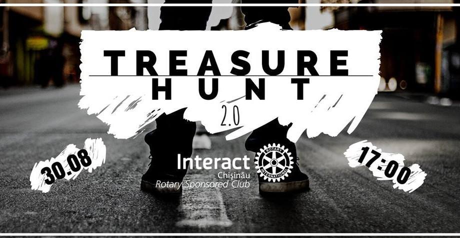 """Vino la o nouă ediție """"Treasure Hunt"""" și pune-ți la încercare abilitățile de detectiv. Află când va avea loc vânătoarea de comori"""