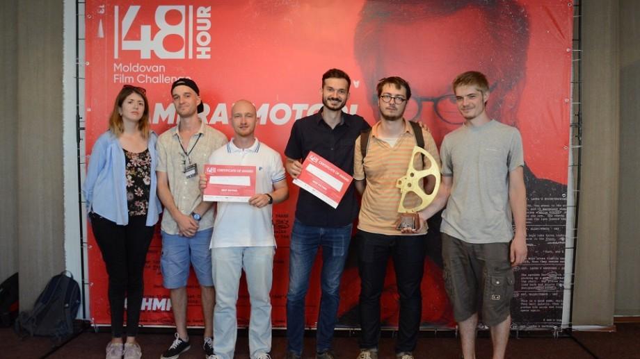 (foto) Cum este să faci un film în doar 48 de ore? Iată cine sunt câștigătorii 48h Moldovan Film Challenge