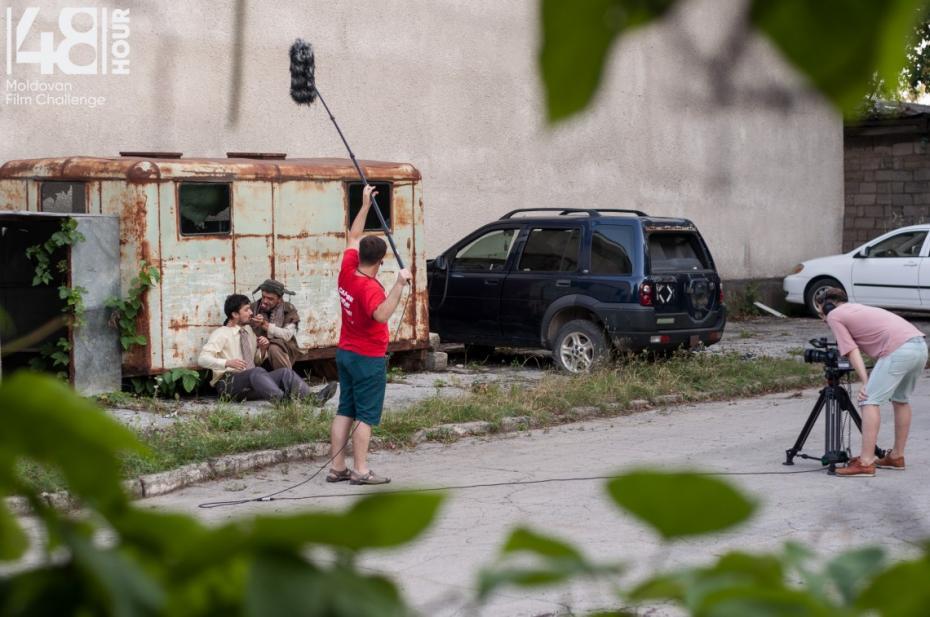 (foto) De la noi realități și până în purgatoriu. Află poveștile filmelor create în 48 de ore la primul hackathon cinematografic din Moldova